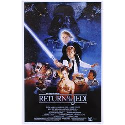"Jeremy Bulloch Signed ""Return of the Jedi"" 24x36 Movie Poster Inscribed ""Boba Fett"" (Radtke Hologram"