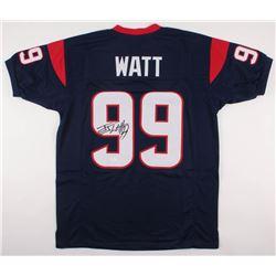 J. J. Watt Signed Huston Texans Jersey (JSA COA)
