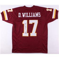 "Doug Williams Signed Redskins Jersey Inscribed ""SB XXII MVP"" (JSA COA)"