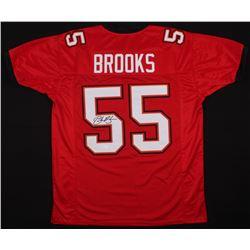 Derrick Brooks Signed Buccaneers Jersey (JSA COA)
