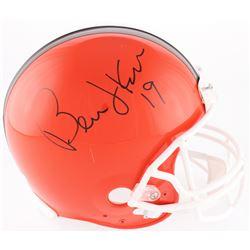 Bernie Kosar Signed Browns Full-Size On-Field Throwback Helmet (Radtke COA)