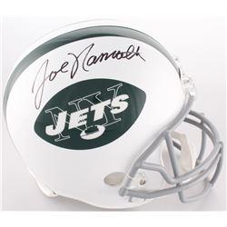 Joe Namath Signed Jets Full-Size Helmet (JSA COA)