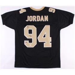 "Cameron Jordan Signed New Orleans Saints Jersey Inscribed ""Who Dat!"" (JSA COA)"