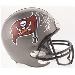 """Warren Sapp Signed Buccaneers Full-Size Helmet Inscribed """"HOF 13"""" (JSA COA)"""