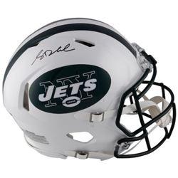 Sam Darnold Signed Jets Full-Size Authentic On-Field Speed Helmet (Fanatics Hologram)