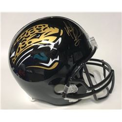 Mark Brunell Signed Jaguars Full-Size Helmet (JSA Hologram)