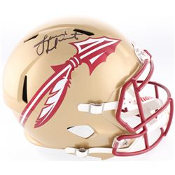Jameis Winston Signed Florida State Seminoles Full-Size Speed Helmet (Beckett COA)