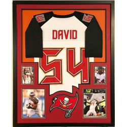Lavonte David Signed Buccaneers 34x42 Custom Framed Jersey (JSA COA)