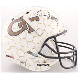 Demaryius Thomas Signed Georgia Tech Yellow Jackets Full-Size Helmet (Radtke COA)