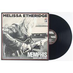 "Melissa Etheridge Signed ""Memphis Rock and Soul"" Vinyl Record Album Cover (JSA COA)"