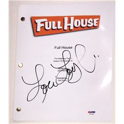 "Lori Loughlin Signed ""Full House: The Wedding, Part 1"" Full Episode Script (PSA COA)"
