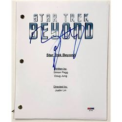 "Zachary Quinto Signed ""Star Trek: Beyond"" Full Movie Script (PSA COA)"