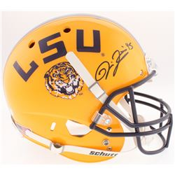 Deion Jones Signed LSU Tigers Full-Size Helmet (Radtke COA)