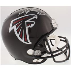 Devonta Freeman Signed Falcons Full-Size Helmet (Radtke COA)