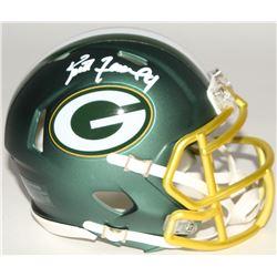 Brett Favre Signed Packers Mini Blaze Speed Helmet (Radtke COA)