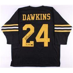 "Pete Dawkins Signed Army Black Knights Jersey Inscribed ""H-1958"" (Radtke COA)"