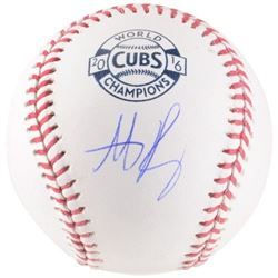 Anthony Rizzo Signed 2016 Cubs World Champions Baseball (Fanatics Hologram)