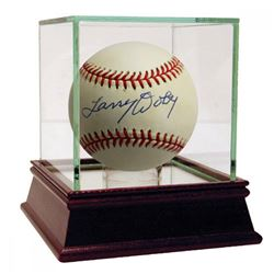 Larry Doby Signed OAL Baseball (JSA COA)