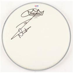 "Nicko McBrain Signed 10.5"" Drum Head (PSA COA)"