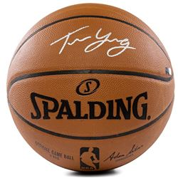 Trae Young Signed Limited Edition Official NBA Game Ball (Panini COA)