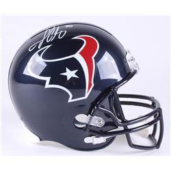 Jadeveon Clowney Signed Texans Full-Size Helmet (JSA COA)