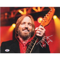 Tom Petty Signed 11x14 Photo (PSA COA)