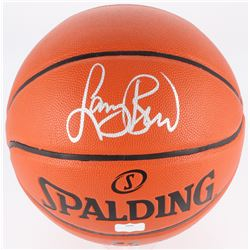 Larry Bird Signed Basketball (Radtke COA)