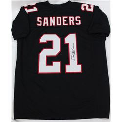 Deion Sanders Signed Falcons Jersey (JSA COA)