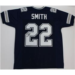 Emmitt Smith Signed Cowboys Jersey (JSA COA)