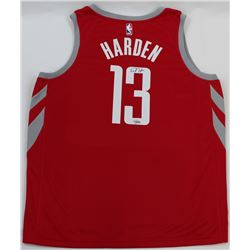 James Harden Signed Rockets Jersey (Fanatics Hologram)