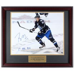 "Tyler Seguin Signed Bruins 27x23 Custom Framed Photo Display Inscribed ""1st NHL ASG"" (JSA COA)"