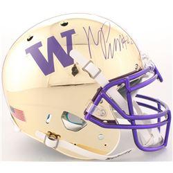 Marcus Peters Signed Washington Huskies Full-Size On-Field Helmet (Radtke COA)