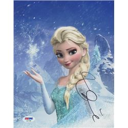 "Idina Menzel Signed ""Frozen"" 8x10 Photo (PSA COA)"