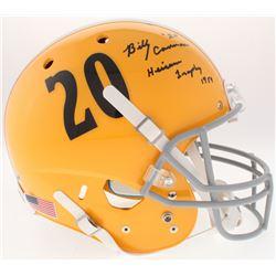 "Billy Cannon Signed LSU Tigers Full-Size Helmet Inscribed ""Heisman Trophy 1959"" (Radtke COA)"
