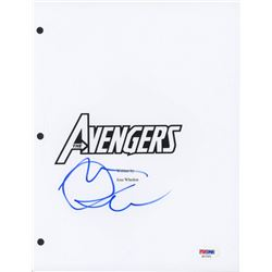 "Mark Ruffalo Signed ""The Avengers"" Movie Script Cover (PSA COA)"