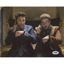 "James Franco Signed ""The Interview"" 8x10 Photo (PSA COA)"