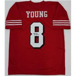 Steve Young Signed 49ers Jersey (JSA COA)