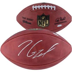 """Jimmy Garoppolo Signed """"The Duke"""" Official NFL Game Ball (Steiner COA)"""