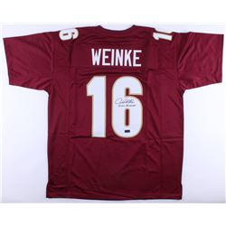 "Chris Weinke Signed Florida State Seminoles Jersey Inscribed ""2000 Heisman"" (Radtke COA)"