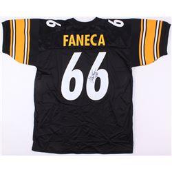 Alan Faneca Signed Steelers Jersey (JSA COA)