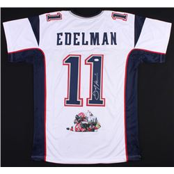 Julian Edelman Signed Patriots Jersey with Custom Stitched Photo (JSA COA)