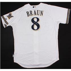 Ryan Braun Signed Brewers Jersey (Radtke COA)