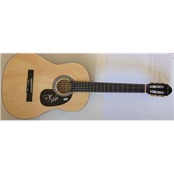 Mike Love  Bruce Johnston Signed Full-Size Huntington Acoustic Guitar (PSA COA)