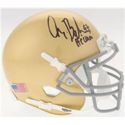"Gary Beban Signed UCLA Bruins Mini Helmet Inscribed ""'67 Heisman"" (Radtke COA)"