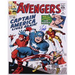 "Stan Lee Signed ""The Avengers"" 16x20 Photo (PSA COA)"