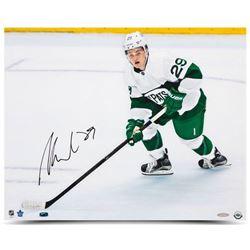"""William Nylander Signed Maple Leafs """"The Pats"""" 16x20 Photo (UDA COA)"""
