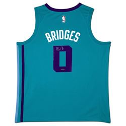 Miles Bridges Signed Hornets Jersey (UDA COA)