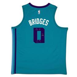 "Miles Bridges Signed LE Hornets Jersey Inscribed ""1st Rd Pk 18"" (UDA COA)"