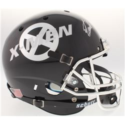 """Stan Lee Signed Custom """"X-Men"""" Full-Size Helmet (Radtke COA  Lee Hologram)"""