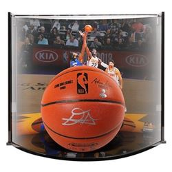 Deandre Ayton Signed NBA Game Ball Series Basketball With Curve Display Case (Game Day Legends COA